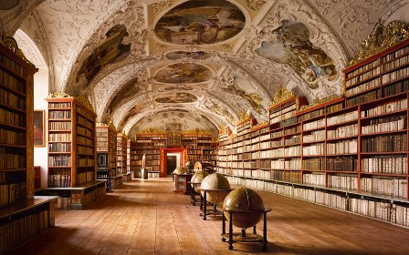 The Theological Hall, Strahov Abbey, Prague, Czech Republic