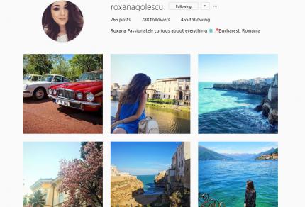 instamoment roxana golescu simoneciel.ro instagram